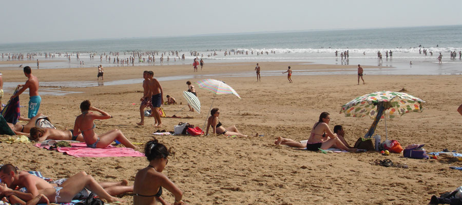 La plage des Conches en Vendée