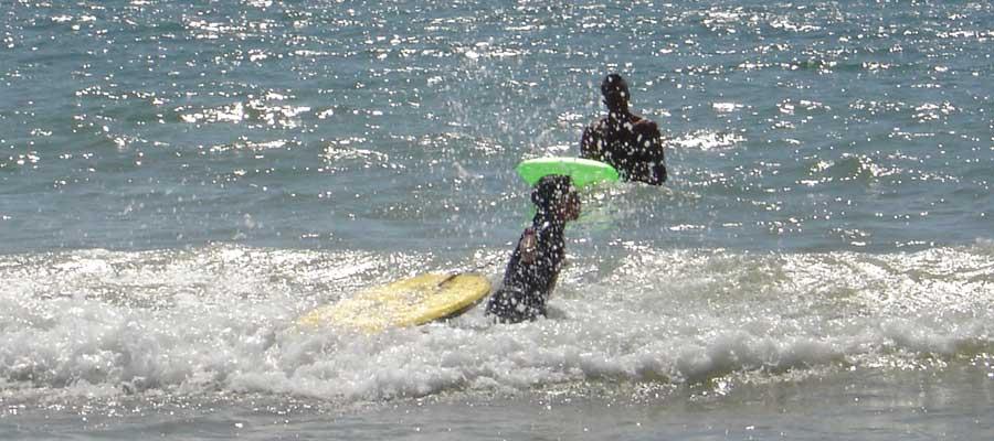 body-surf