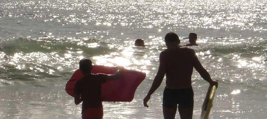 Body sur la plage