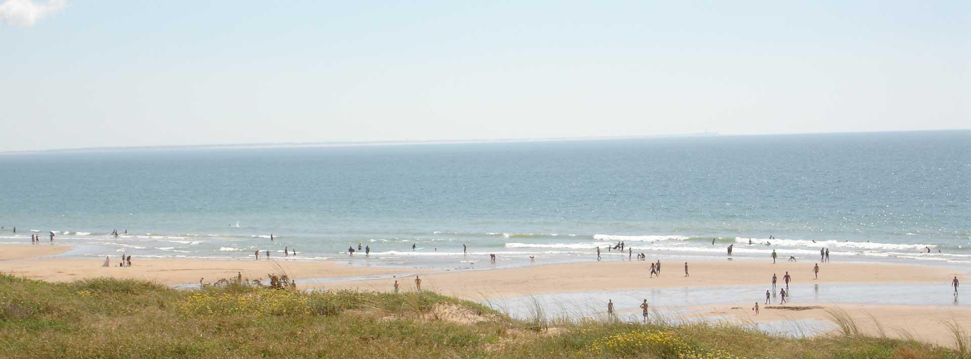 la plage de Vendée