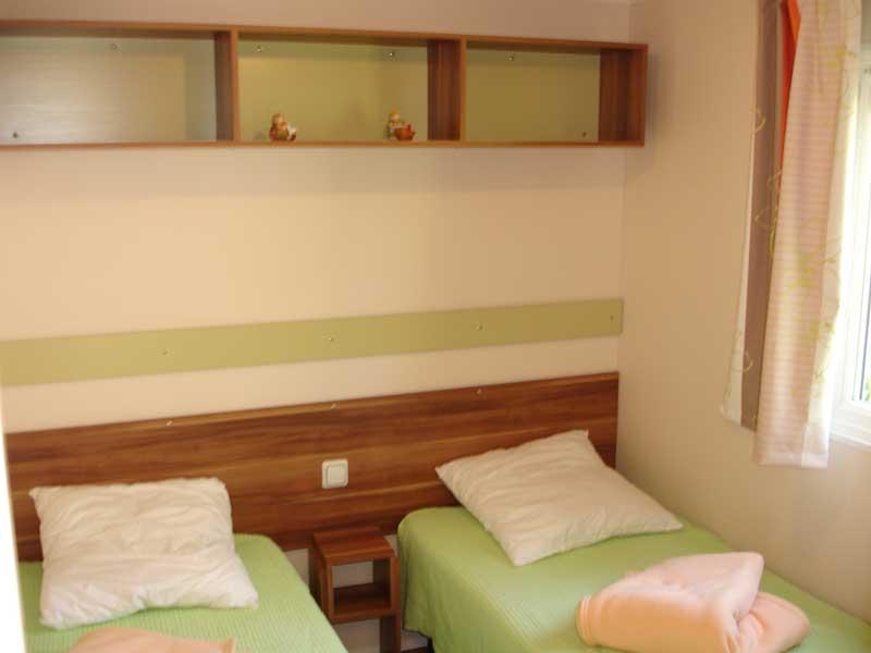 Chambre 2 lits x 1 personne