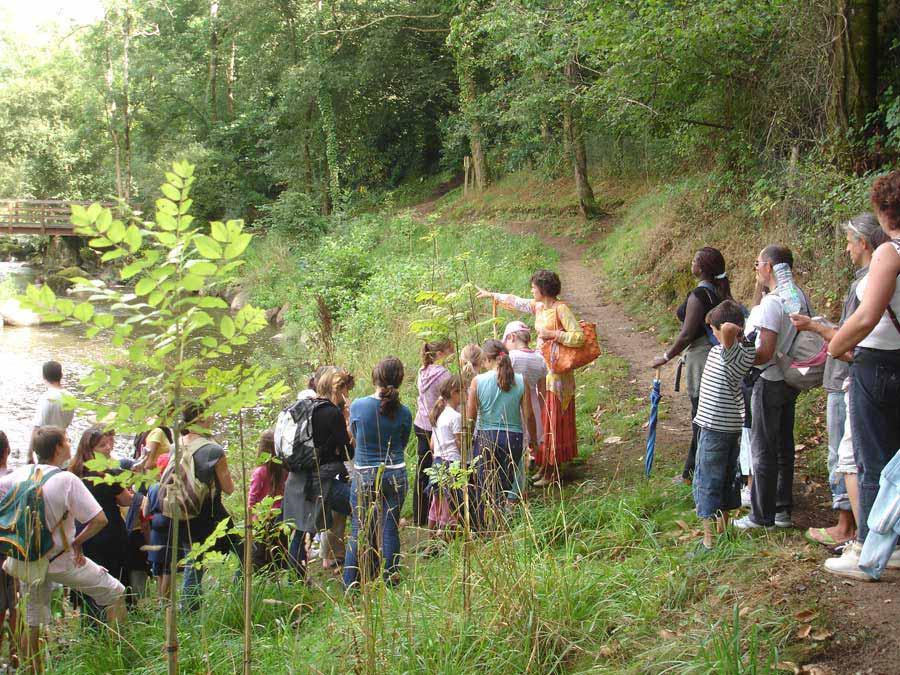 Promenades dans la vallée de l'Yon avec Fabienne la conteuse