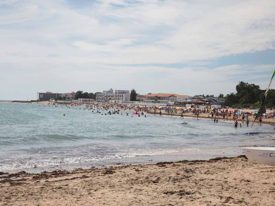La plage de la Tranche sur Mer