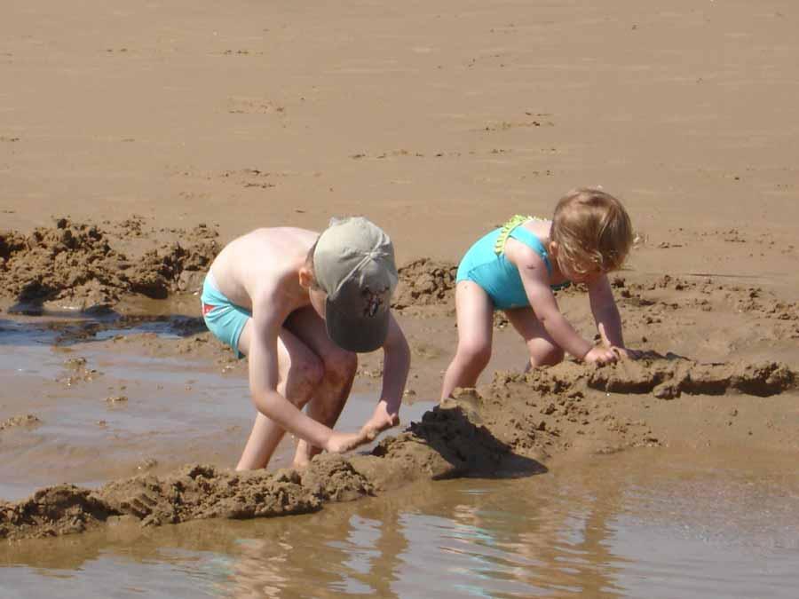 Les pâtés de sable !