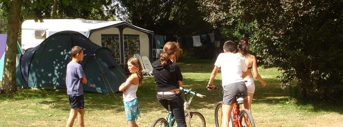 randonnées VTT aux abords du camping en Vendée